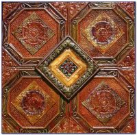 Vintage Tin Ceiling Tiles Art