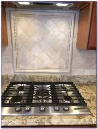 Tumbled Travertine Subway Tile Backsplash - Tiles : Home ...
