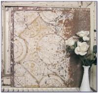 Vintage Tin Ceiling Tiles Art - Tiles : Home Design Ideas ...