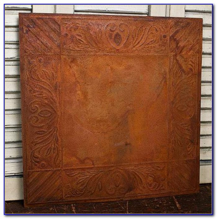 Tin Ceiling Tiles Vintage