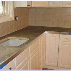 Glass Tile Kitchen Countertop Industrial Faucet Ceramic Countertops Designs Tiles Home