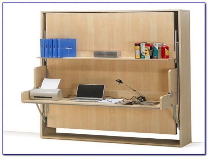 Bed And Desk Combo Plans  Desk  Home Design Ideas