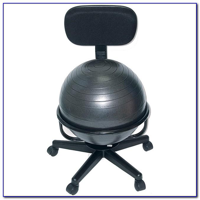 Exercise Ball Office Chair Study  Desk  Home Design