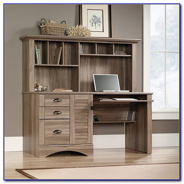 Sauder New Cottage Desk And 3 In 1 Stand  Desk  Home