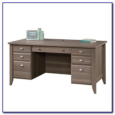 Sauder Shoal Creek Executive Desk White  Desk  Home