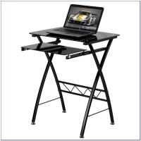 Tempered Glass Top Computer Desk - Desk : Home Design ...