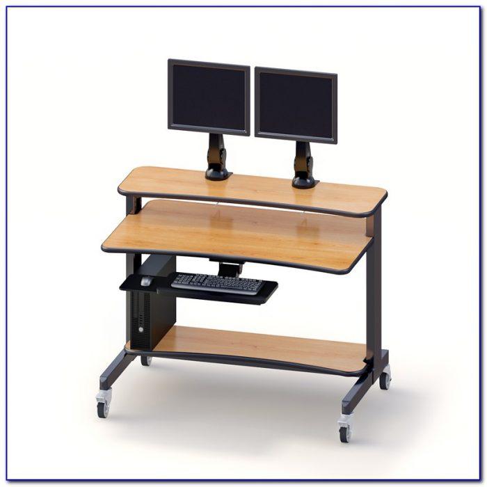 Wizard Top Desk 2 Monitors