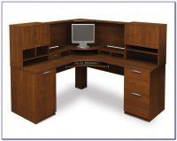 Corner Desk Shelf Unit - Desk : Home Design Ideas # ...