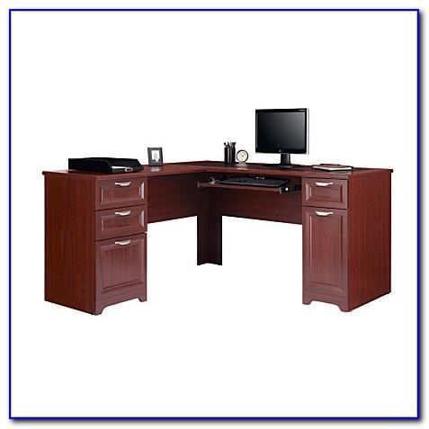 Mezza Collection L Shaped Desk Black  Desk  Home Design