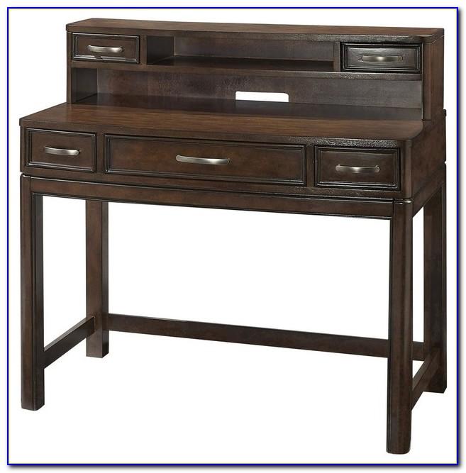 Small Black Writing Desk With Hutch  Desk  Home Design