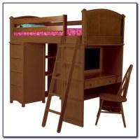 Twin Bed Desk Combo - Desk : Home Design Ideas # ...