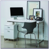 White Computer Desk With File Cabinet - Desk : Home Design ...