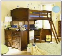 Bunk Bed With Trundle Desk And Drawers - Desk : Home ...