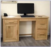 Contemporary Oak Desks For Home Office - Desk : Home ...