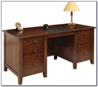 Solid Wood Executive Desks Home Office - Desk : Home ...
