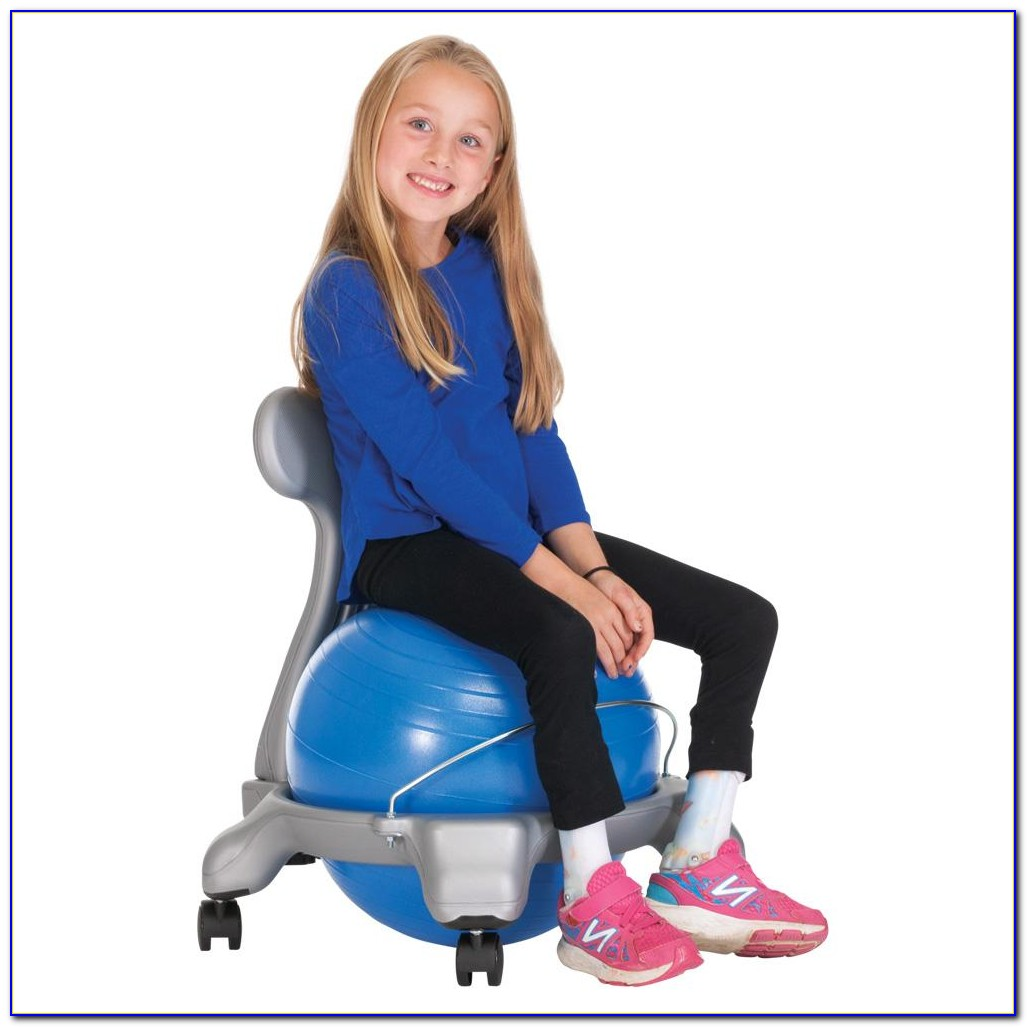 Exercise Ball Office Chair Benefits  Desk  Home Design