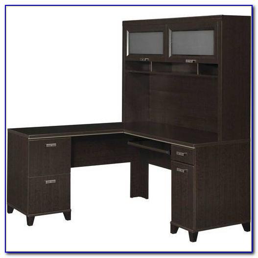 Magellan L Shaped Desk And Hutch  Desk  Home Design