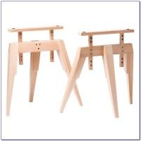 Metal Sawhorse Legs For Desk - Desk : Home Design Ideas ...
