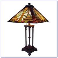 Mission Style Table Lamp Shades - Desk : Home Design Ideas ...