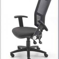 Office Chair With Adjustable Arms Desk In Kitchen Chairs And Lumbar Support