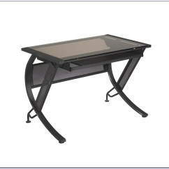Chair Mount Keyboard Tray Canada Wheelchair For Baby Staples Glass Computer Desk Home Design