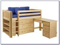 Twin Loft Bed With Desk Plans - Desk : Home Design Ideas ...