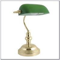 Vintage Green Bankers Desk Lamp - Desk : Home Design Ideas ...