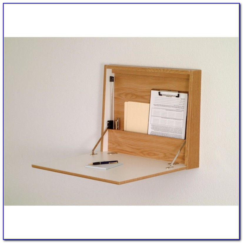 Wall Mounted Fold Down Desk Plans
