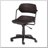 Wooden Armless Swivel Desk Chair - Desk : Home Design ...