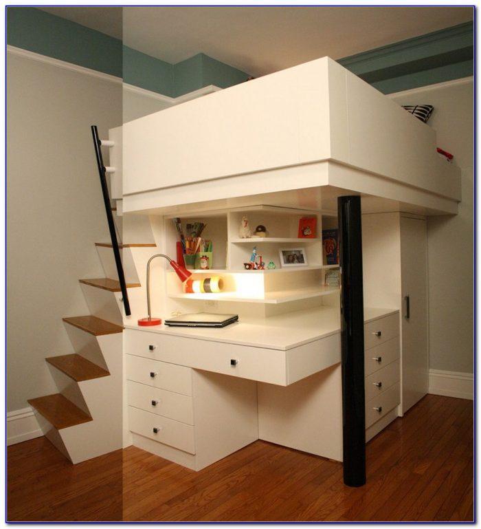 Bunk Bed Desk Combo Ikea  Beds  Home Design Ideas