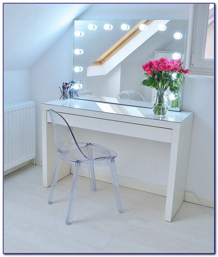Makeup Storage Desk Ikea Desk Home Design Ideas