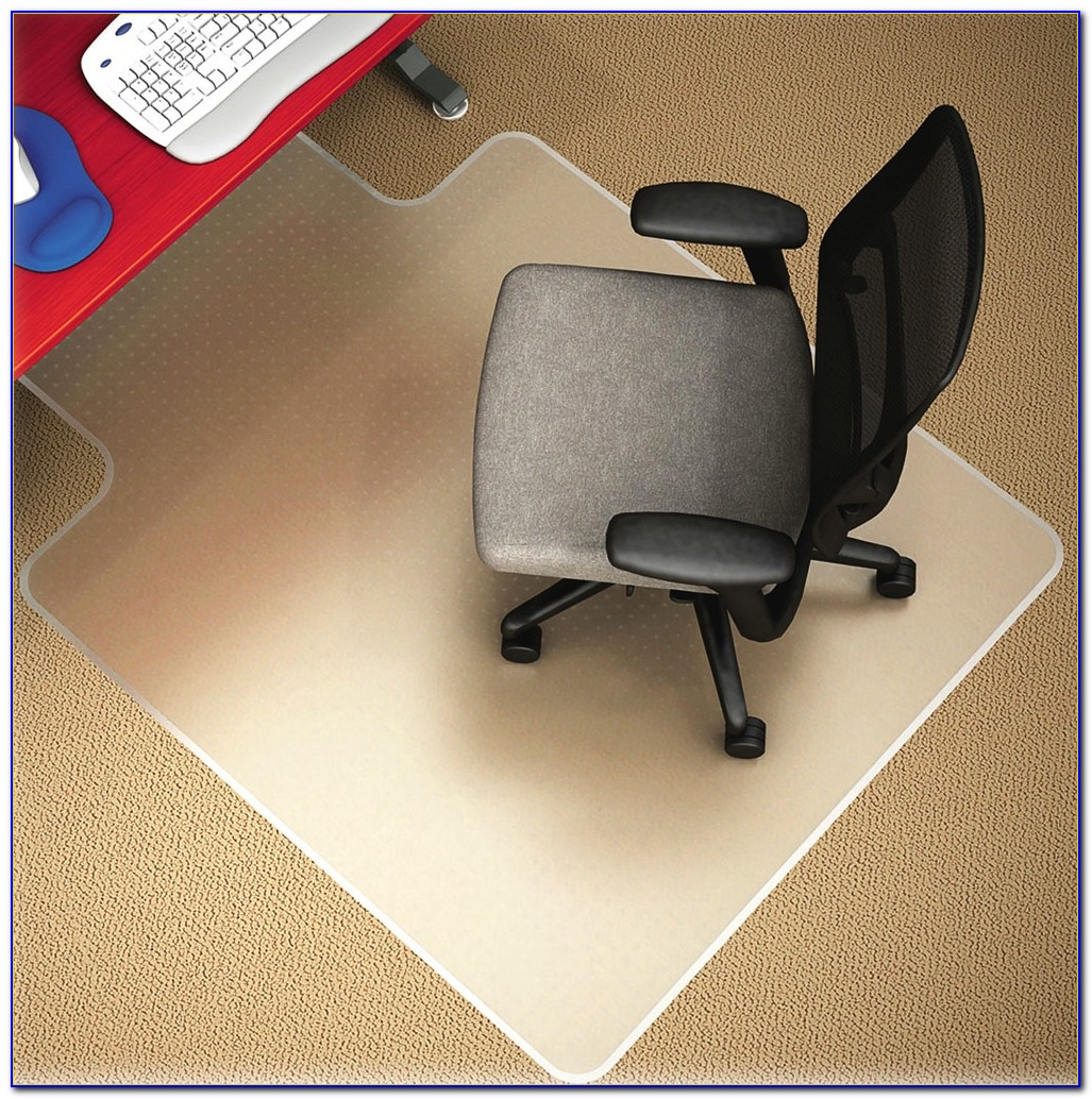 carpet chair mats orange velvet office costco desk home design ideas