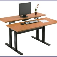 Office Chair For Standing Desk Crazy Creek Air Plus Review Furniture Adjustable Home