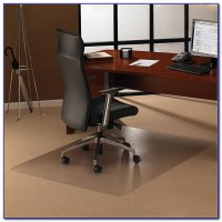Plastic Desk Chair Floor Mat