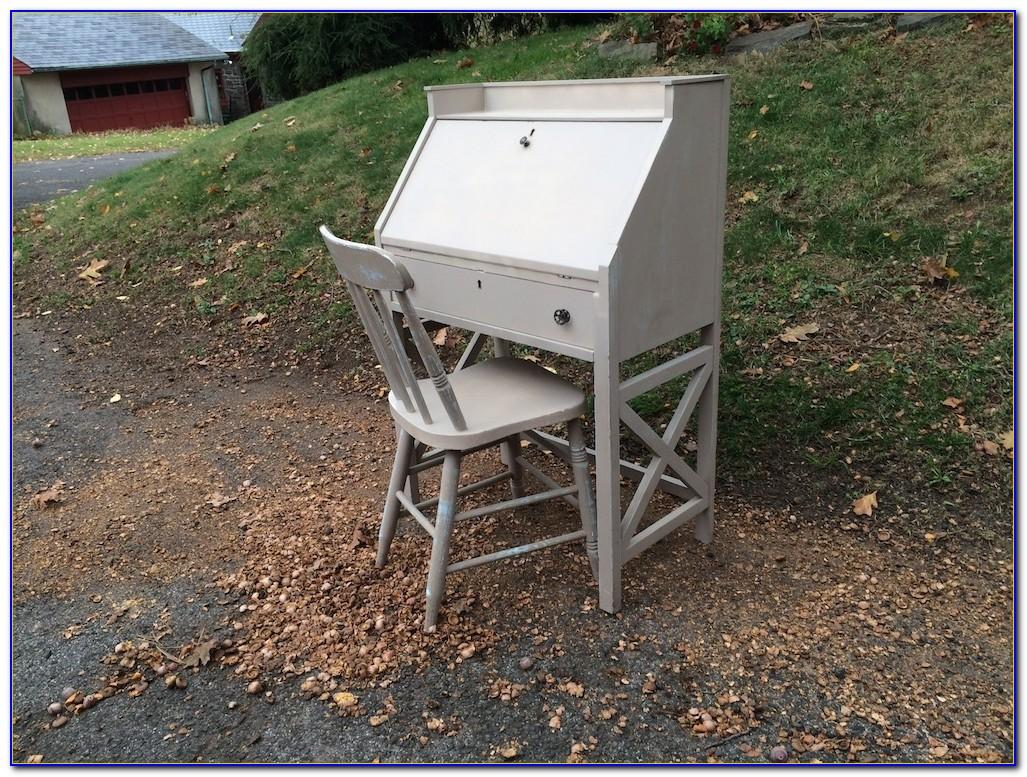 Shabby Chic Swivel Desk Chair  Desk  Home Design Ideas