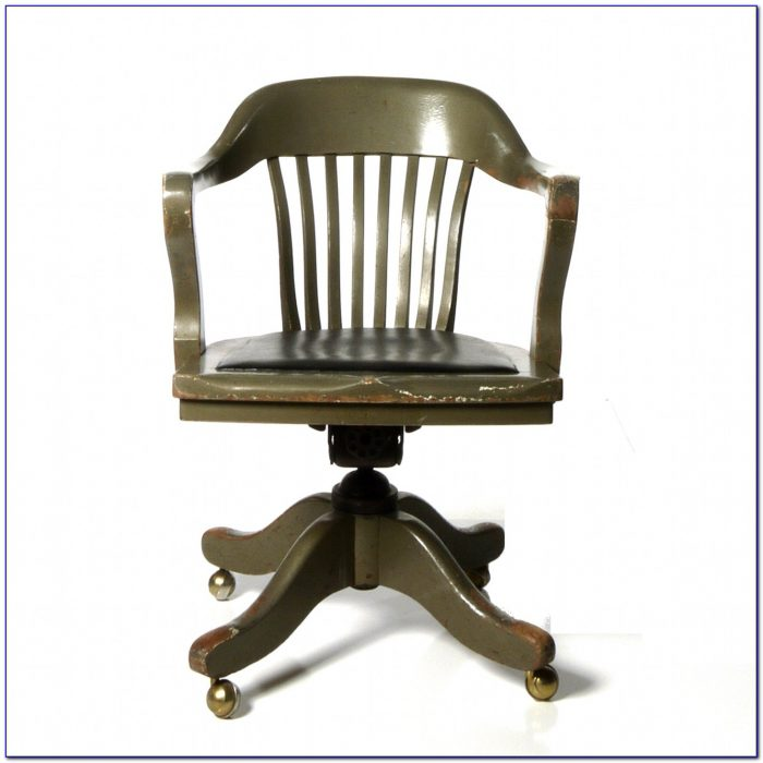 Wooden Desk Chairs Swivel