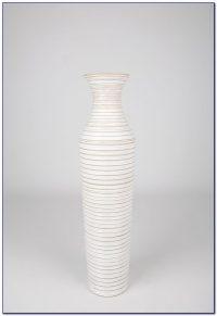 Tall White Ceramic Floor Vase - Flooring : Home Design ...