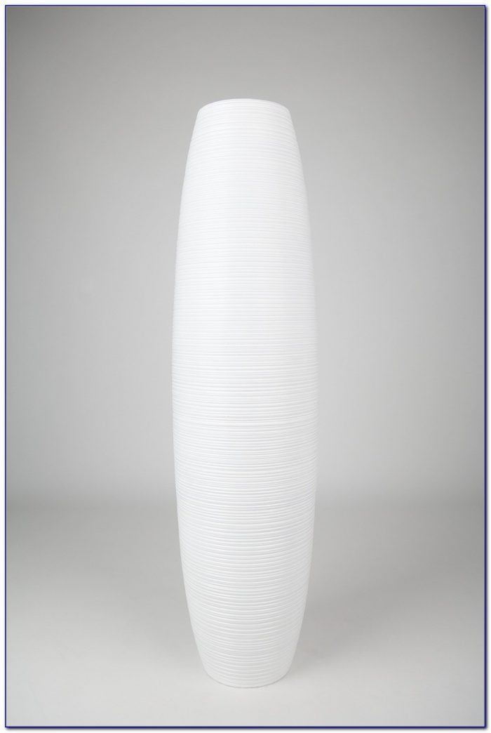 Tall White Ceramic Floor Vase Flooring Home Design