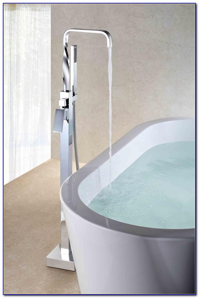Floor Mount Tub Faucet Bronze  Flooring  Home Design