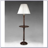 Traditional Floor Lamp With Attached Table Uk - Flooring ...