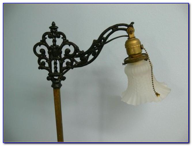 Old Cast Iron Floor Lamp Flooring Home Design Ideas
