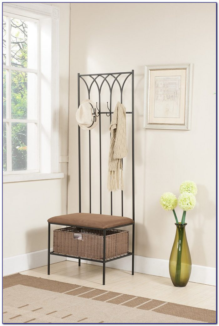 Entryway Bench With Shoe Rack  Bench  Home Design Ideas