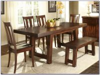 Small Rectangular Kitchen Table With Bench - Bench : Home ...