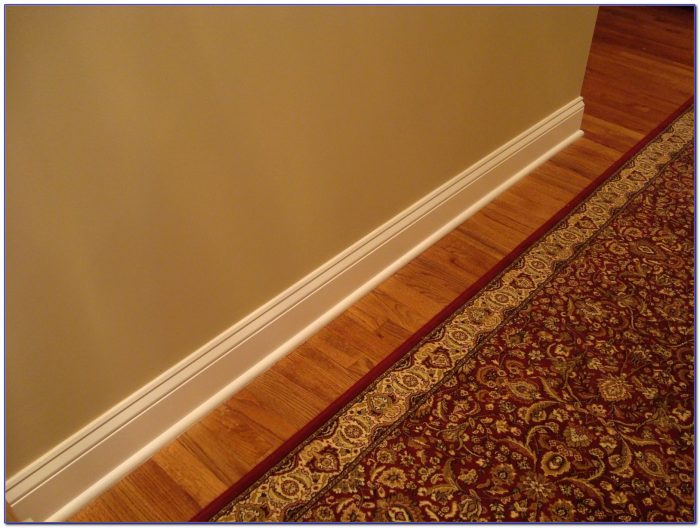 Wood Floor Without Shoe Molding Flooring Home Design