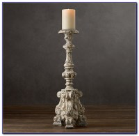 Floor Standing Pillar Candle Holders - Flooring : Home ...