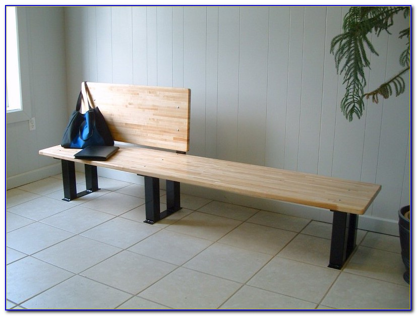 Ada Locker Room Bench With Back Support Bench Home