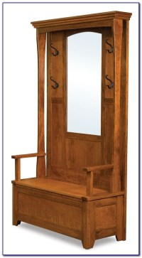 Hall Bench Coat Stand
