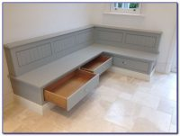 Kitchen Table Bench Seat With Back - Bench : Home Design ...