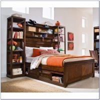 Twin Bookcase Bed With Underbed Storage - Bookcase : Home ...