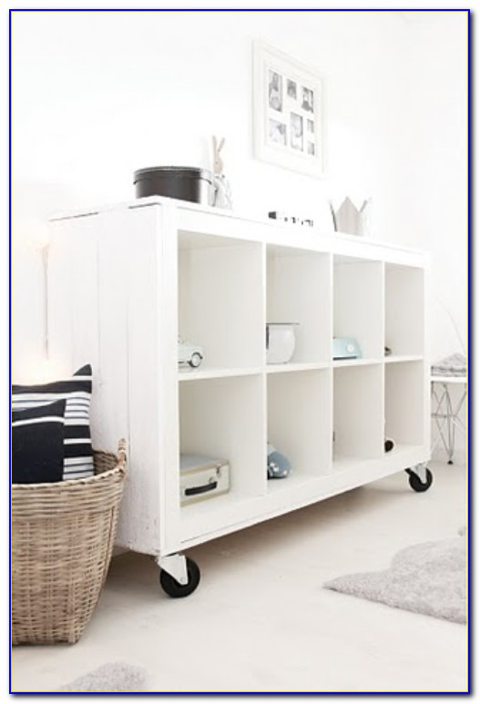 Portable Bookcase On Wheels  Bookcase  Home Design Ideas
